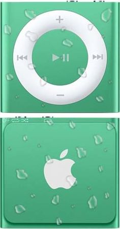 Waterproof iPod Shuffles by AudioFlood  OMG!!! I just swam myself into dehydration with my new ipod... I have never known love.....