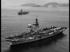 HMS Hermes and HMS Victorious