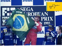 El incomparable Ayrton Senna da Silva. 4 ever!