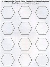 Image result for Printable English Paper Piecing Templates