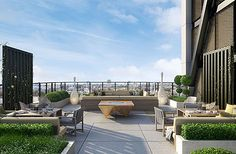 Merano Residences is one of the finest properties on the River Thames. 40 private apartments with residents roof garden & café. Rooftop Lounge, Rooftop Terrace, Terrace Garden, Outdoor Spaces, Outdoor Living, Outdoor Decor, Outdoor Furniture, Fresco, Roof Terrace Design