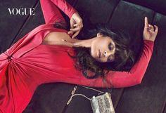 Aishwarya Rai Bachchan in Halston | VOGUE India, March 2015. | The Film & Fashion Journal