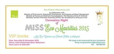 Grand Final Miss Eco Mauritius 2015 - see more on http://ift.tt/1QzIUov #events #mauritius