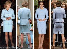 Diana / Kate in Catherine Walker.
