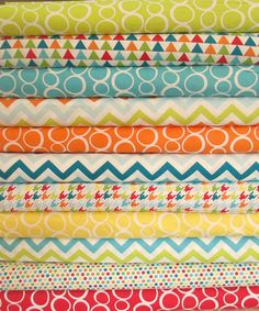 Mixed Bag Fat Quarter Bundle Fabric  Studio by QuiltsFabricandmore, $30.25