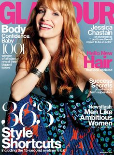 Pin for Later: Of All the Supermodels, Our Hearts Belong to Miranda Kerr Glamour November 2014 Jessica Chastain photographed by Tom Munro. Source: Glamour