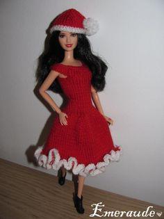 Tricot: Noël n°1 pour Barbie