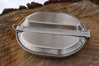 Stainless Steel Mess Tin Camping Equipment, Bushcraft, Tin, Stainless Steel, Camping Products, Camping Gear, Camp Gear