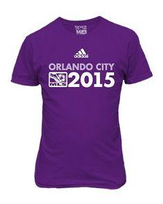 Orlando City MLS Shirt Canada Soccer, Orlando City, Major League Soccer, Florida Living, Adidas, Mens Tops, T Shirt, Spaces, Supreme T Shirt