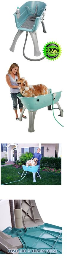 Dog Lover Products 116378: X Large Portable Dog Bath Grooming Supplies Equipment Station Washing Shampoo BUY IT NOW ONLY: $255.24