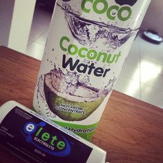 """""""Power start to the weekend with bootcamp on the beach emojiemojifollowed by a SUP session!! Time to rehydrate... #coconutwater #eleteelectrolyte #elete #refuel #SUP""""  #Instagram #GoCoco #CoconutWater #Coconut #Health #Nutrition #Rehydration #Refreshing #Healthy #HealthyEating #FoodDrink #Food #Drink"""