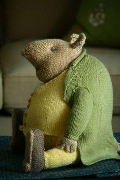 Ideas Knitting Animals Beatrix Potter Many unhealthy substances… Knitting Stitches, Knitting Patterns Free, Free Knitting, Baby Knitting, Crochet Patterns, Beatrix Potter, Knit Or Crochet, Crochet Toys, Simple Crochet