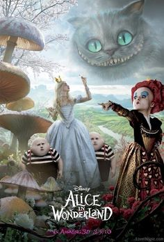 Alice in Wonderland movies movie alice in wonderland movie poster movie posters