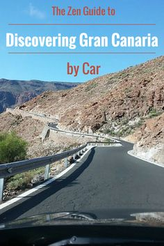 The Zen Guide to Discovering Gran Canaria by Car (and a pink elephant) #grancanaria
