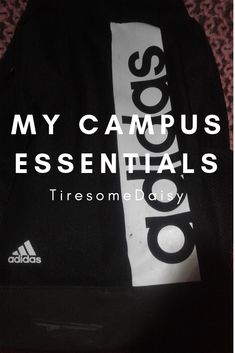Back to Campus: What's in my bag? My Campus, What In My Bag, Uplifting Quotes, News Blog, My Bags, Challenges, Student, Adidas, How To Plan