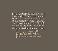 <3 Peeta and Katniss