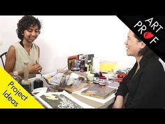 Art Prof: Video Courses in Drawing, Painting, Printmaking, & Sculpture Middle School Art, Art School, School Lessons, Art Lessons, Linoleum Block Printing, Trending Art, Elements Of Art, Art Lesson Plans, Art Education