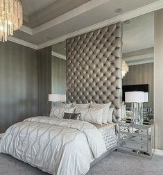 Saying goodnight with this exquisite bedroom... . #lovefordesigns#homedecor #homedesign#interiordecor#luxury#newhome#lighting#homeinspo#living#designideas#interiors#decor#homeinspo#instadesign#hogar#casa#interiorinspo#staging#sleep#lightfixture#dormitorio #realestate#homesweethome#bed#bedroom