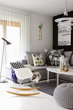 10 Scandinavian living rooms | 10 Salones de estilo escandinavo
