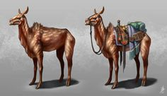 Spotted Strider | Maybe used by nomadic people of Pern?