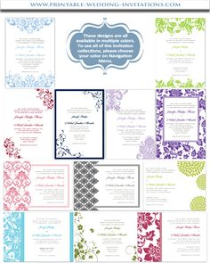 Invitation Templates For Free Custom Free Wedding Invitation Templates  Free Printable Wedding .