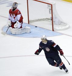 TJ Oshie scores 4 of 6 shootout goals to defeat Russia 3-2 in the Sochi Winter Olympics. Welcome to the TJ Oshie Show, America. You're about 6 years late