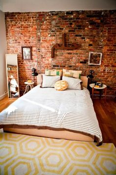 Must have: exposed brick. Adds so much character to a home.