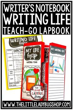 Writing should begin with this Writing Lapbook tool for Brainstorming Writer's to think about their Writing Goals and Ideas! It is an important skill for them to take Moments from their LIFE to write about in a fun and motivating way! Perfect for 3rd grade, 4th grade and home school students. #4thgradewritingnotebook #writingnotebook #personalnarrative