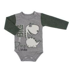 Comprar Body de Bebê Manga Longa Estampado. Body para bebê manga longa confeccionado em meia malha fio 30.1 100% algodão de ótima qualidade, possui acabamento em viés, botões de pressão na gola e pernas, e lindas estampas com temas infantis. Por ser um tecido confortável e leve ele muito utilizado na fabricação de camisetas em geral, excelente opção para deixar o seu bebê protegido e fresquinho Tecido: Meia Malha fio 30.1 - 100% algodão Marca: Lapuko Tabela de Medidas: Tamanho ...