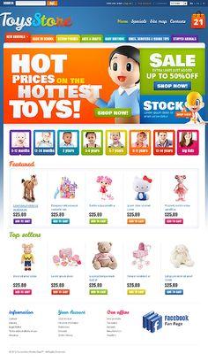Toys Store PrestaShop Themes by Hermes