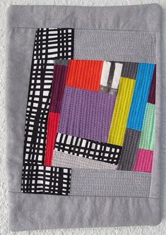 Miniature quilt by Cathy Miranker.  Photo by The Plaid Portico.