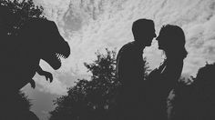 Engagement photos -- I want to steal this idea from a friend of a friend.