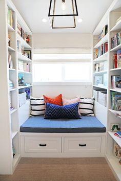 Utah Valley Parade of Homes - boy's rooms - reading nook, boys reading nook, reading nook design, kids reading nook, childrens reading nook,...
