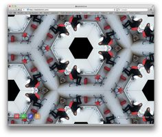 Kaleidoism turns your browser into customizable Kaleidoscope! #somuchfun (Little tip, after the image is loaded, click on it and move your mouse around and mouse hover the bottom of the browser window to bring the controls back.)