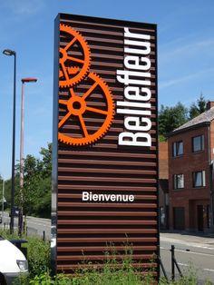Bienvenue à Bellefleur, parc commercial avec 18 magasins.