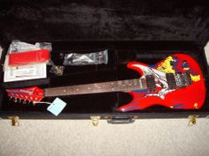 IBANEZ JS20S Joe Satriani Limited Edition 20th Anniversary Guitar with Case Rare