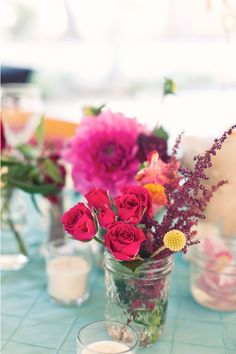 love the flowers