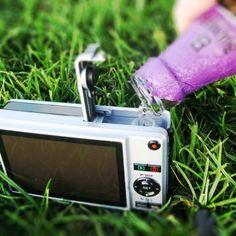 Bev-Cam Camera Flask - $15
