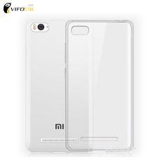 Voor Xiaomi Mi4C Silicon TPU Zachte Hoge kwaliteit Beschermende Terug Cover Case Voor Xiaomi Mi 4C Mobiele Telefoon + Gratis Verzending