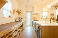 【アイジースタイルハウス】キッチン。収納も抜群