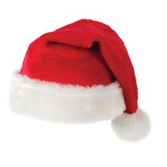 Adult / kids #plush #fluffy red christmas #santa hat,  View more on the LINK: 	http://www.zeppy.io/product/gb/2/272040105512/