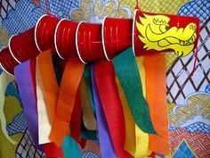 Ideas, Cool DIY Chinese New Year Crafts With Red Chinese Dragon From Red Picnic Cup: Inspiring Chinese New Year Crafts Design Chinese New Year Crafts For Kids, Chinese New Year Activities, Chinese New Year Party, Chinese New Year Decorations, Chinese Crafts, New Years Activities, New Years Decorations, Fun Activities For Kids, Ideas