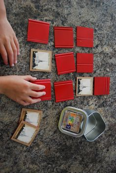 Temple pic matching game, could make with prophets, scriptures, etc. Cute Crafts, Crafts To Do, Wood Crafts, Diy Projects To Try, Simple Projects, Blessed Are We, Relief Society Activities, Craft Kits, Craft Ideas