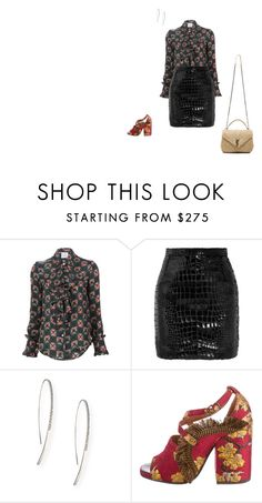 """""""Untitled #295"""" by lblblblb ❤ liked on Polyvore featuring Stella Jean, Yves Saint Laurent, Lana and Dries Van Noten"""