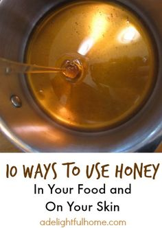 God gave us a wonderful gift in honey! Full of antioxidants, honey provides energy and healing power! In fact, one study showed that daily consumption of honey led to improved blood antioxidant levels (as noted in Healing Food by Micheal Murray, N.D., page 650). Honey is a great natural sweetener and also beneficial when applied to the skin topically. Once I started researching honey, I was astounded by how many uses it has! The best honey is raw honey. In her book, 10 Essential Herbs…
