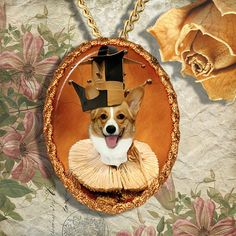 Items similar to Welsh Corgi Pembroke - Jewelry - Pendant - Brooch – Dog Jewelry – Dog Pendant – Dog Brooch - Handcrafted Porcelain By Nobility Dogs on Etsy Dachshund Gifts, Dog Gifts, Dog Jewelry, Pendant Jewelry, Pendant Necklace, Cat Breeds, Pet Portraits, Cat Art, Brooch