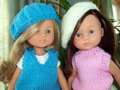 Ravelry: Beret for Les Cheries Dolls pattern by Janet Longaphie