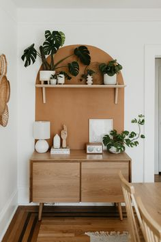 Seno Oak 47 Sideboard This mid-century modern sideboard is an elegant wood addition to any living space in need of a Danish modern touch. Photo by Carla Natalia. Decor, Cheap Home Decor, Home Remodeling, Bedroom Decor, Mid Century Modern Sideboard, Home Decor, Modern Sideboard, House Interior, Room Decor