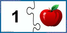 Kindergarten, Preschool Worksheets, Preschool Activities, Puzzles Numeros, Math Games, Child Development, Numbers, Counting, Schools
