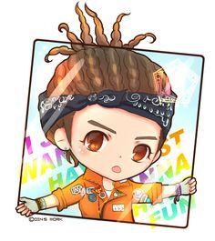 Team H Jang Keun Suk - Chibi version